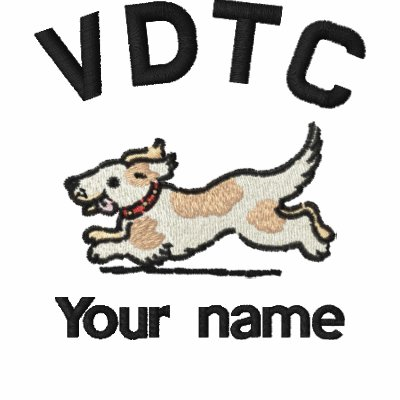 """VDTC Embroidered """"your name"""" Jacket"""