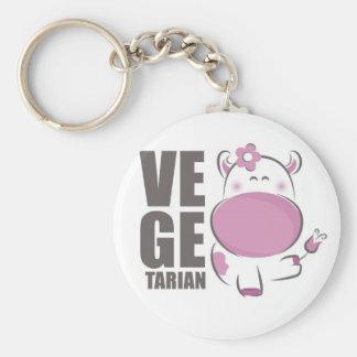 Ve Ge Tarian (Pink Cow) Keychain