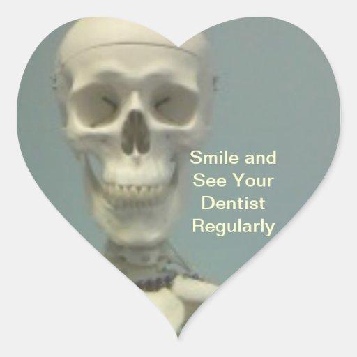 Vea a sus PEGATINAS del dentista Pegatina En Forma De Corazón