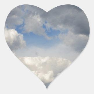 Vea a través calcomanías de corazones