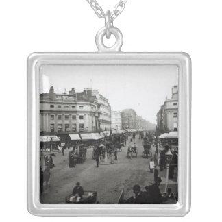 Vea abajo de la calle de Oxford, Londres, c.1890 Joyeria Personalizada