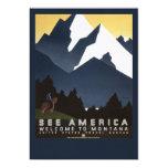 Vea América-Montana Invitación 12,7 X 17,8 Cm