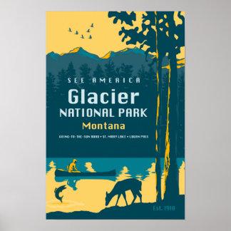 Vea América - poster del viaje del Parque Nacional Póster