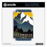 Vea América - recepción a Montana iPhone 2G Calcomanía