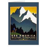 Vea América - recepción a Montana Tarjeta