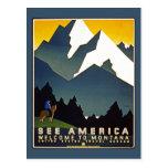 Vea América - recepción a Montana Tarjeta Postal