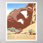 Vea América viajar WPA 1939 Posters