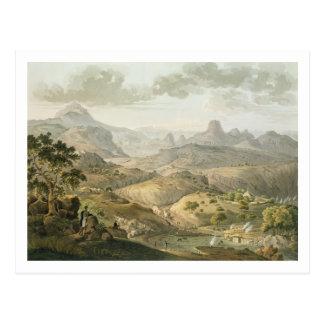 Vea cerca del pueblo de Asceriah, en Abyssinia, e Tarjeta Postal