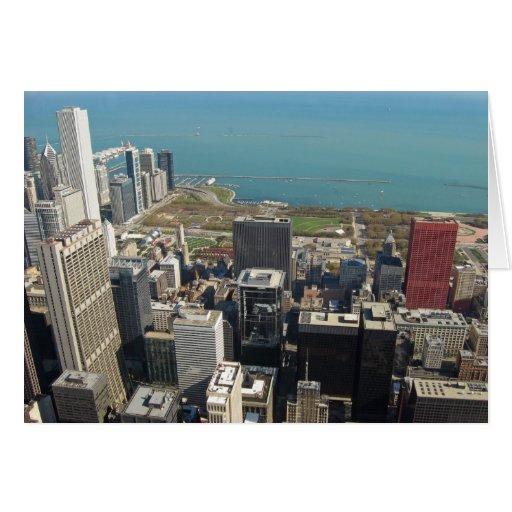 Vea del Torre Sears 4 Tarjeta De Felicitación