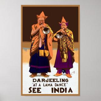 Vea el ~ Darleeling de la India Póster