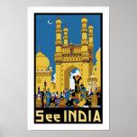 Vea el ~ Hyderabad de la India Póster