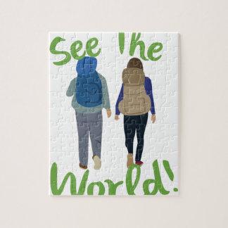 Vea el mundo puzzle
