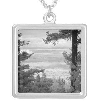 Vea el oeste del escudo de Sandia, montañas, Grimpolas Personalizadas