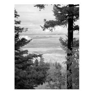 Vea el oeste del escudo de Sandia, montañas, Postal