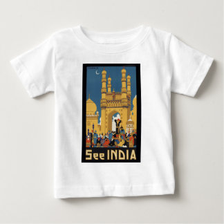 Vea el poster de la India Playera De Bebé