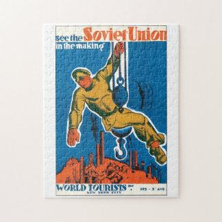 Vea el poster del viaje del vintage de Unión Puzzle