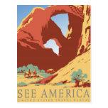 Vea el vintage de América Postales