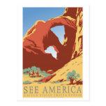 Vea el vintage de América Tarjetas Postales
