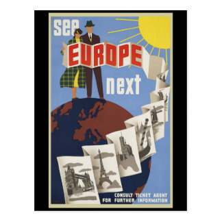 Vea Europa siguiente Postales