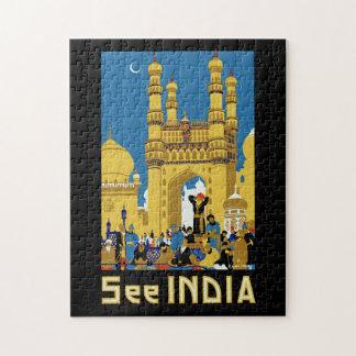 Vea la India Rompecabezas
