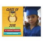 Vea la invitación graduada Whooo de la graduación Invitación 10,8 X 13,9 Cm