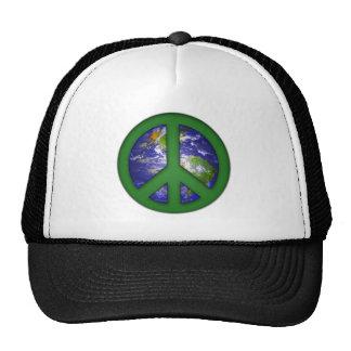Vea la paz de mundo gorras