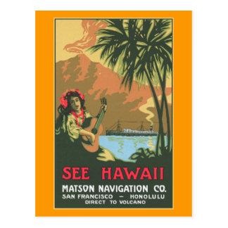 Vea la postal de Hawaii