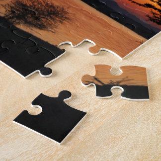 Vea la puesta del sol de Ya Puzzle