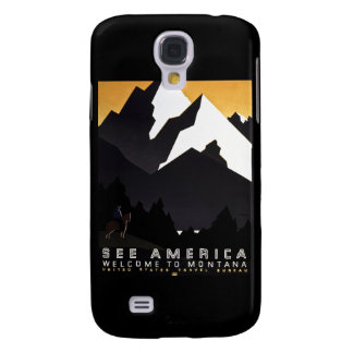 Vea la recepción de América a Montana Funda Para Galaxy S4