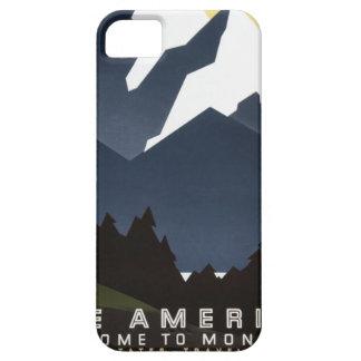 Vea la recepción de América a Montana Funda Para iPhone 5 Barely There