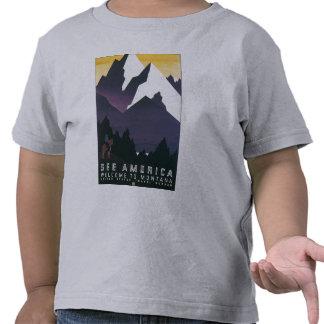 Vea la recepción de América a Montana Camiseta