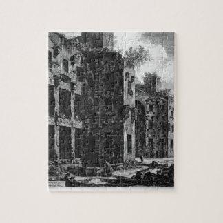 Vea los restos de los baños de Diocletian Puzzle