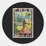 Vea Malaya Pegatinas Redondas