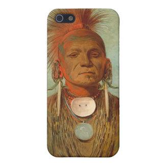 Vea-no-ty-uno, un curandero de Iowa, 1844 iPhone 5 Carcasa