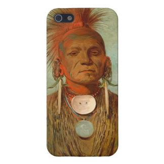 Vea-no-ty-uno, un curandero de Iowa, 1844 iPhone 5 Carcasas