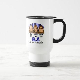 Vea que hablar no oiga ningún ALS 1 Taza De Café