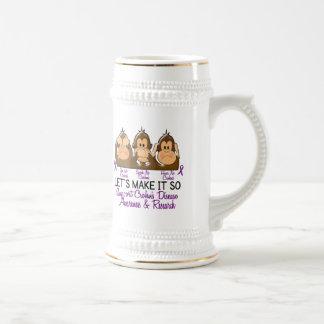 Vea que hablar no oiga ninguna enfermedad 2 de Cro Taza De Café