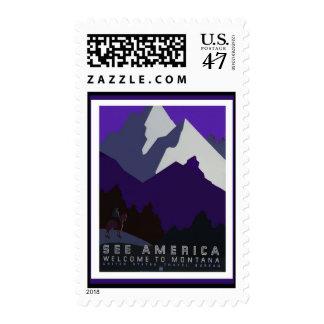 Vea serie del poster de WPA del _de América - de Sellos