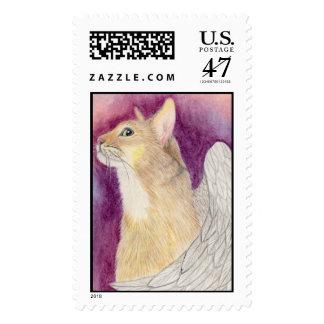 Véale cuando usted consigue allí - franqueo grande sello postal