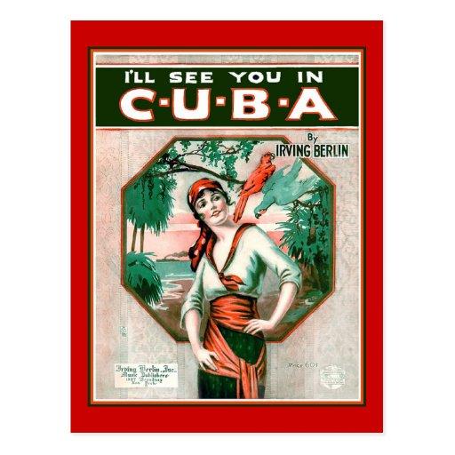 Véale en Cuba Tarjetas Postales