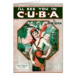 Véale en Cuba Tarjeton