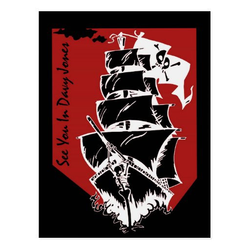 Véale en Davy Jones Tarjetas Postales