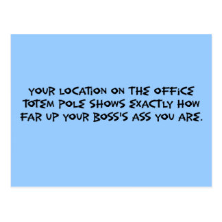 Veamos donde usted está en el político corporativo tarjeta postal