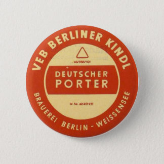 VEB Kindl Porter Button