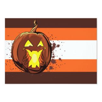 vec fantasmagórico atrapado de Halloween de la Invitación 12,7 X 17,8 Cm