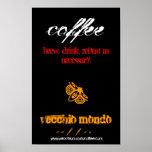 Vecchio Mondo Coffee Poster 1