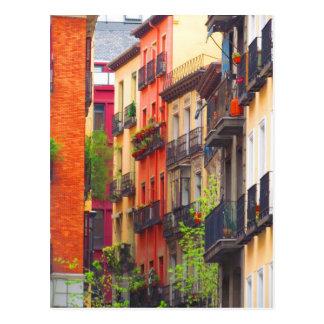 Vecindad de Madrid, España Postal