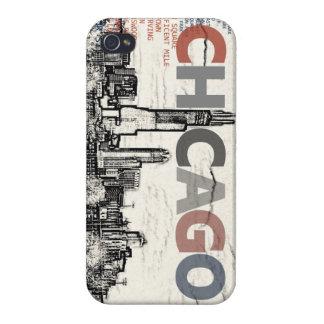 Vecindades de Chicago iPhone 4 Funda