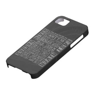 Vecindades de NYC grises Funda Para iPhone 5 Barely There