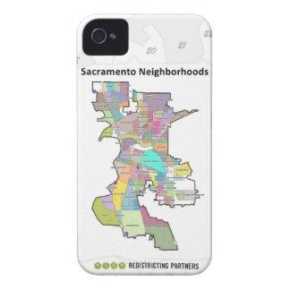 Vecindades de Sacramento Case-Mate iPhone 4 Protectores